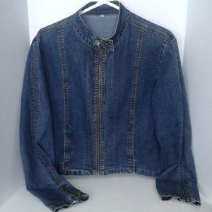 Great jean jacket darker wash